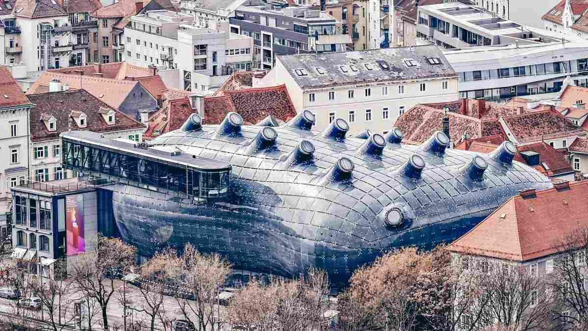 Das Kunsthaus in Graz