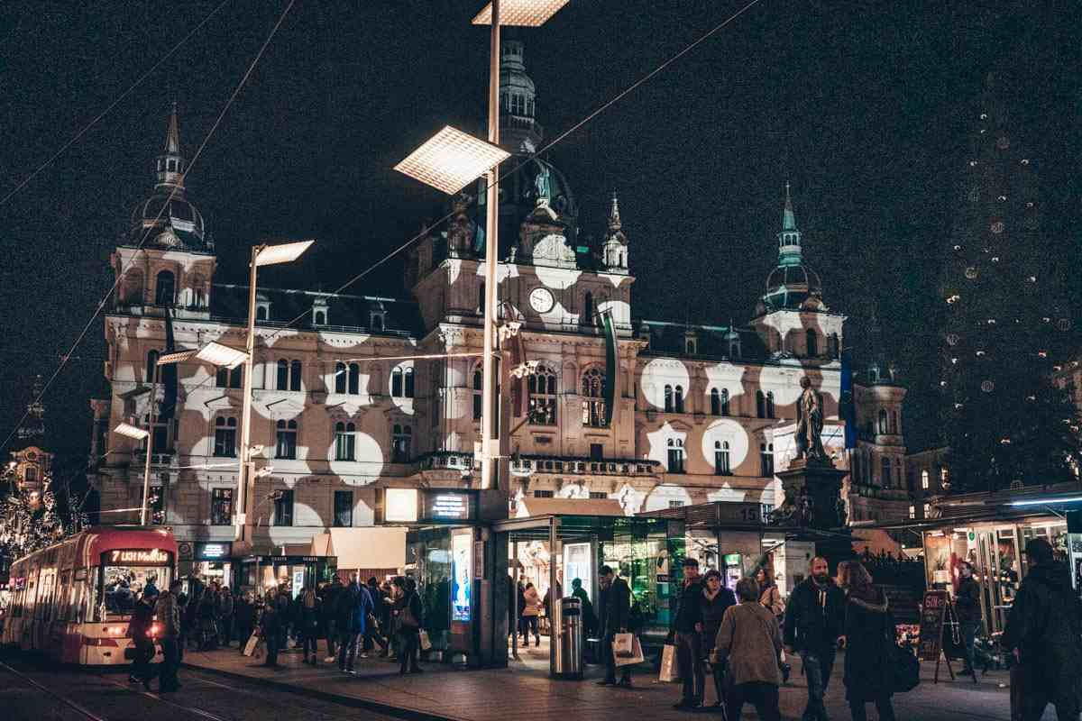 Christmas in Graz Rathaus