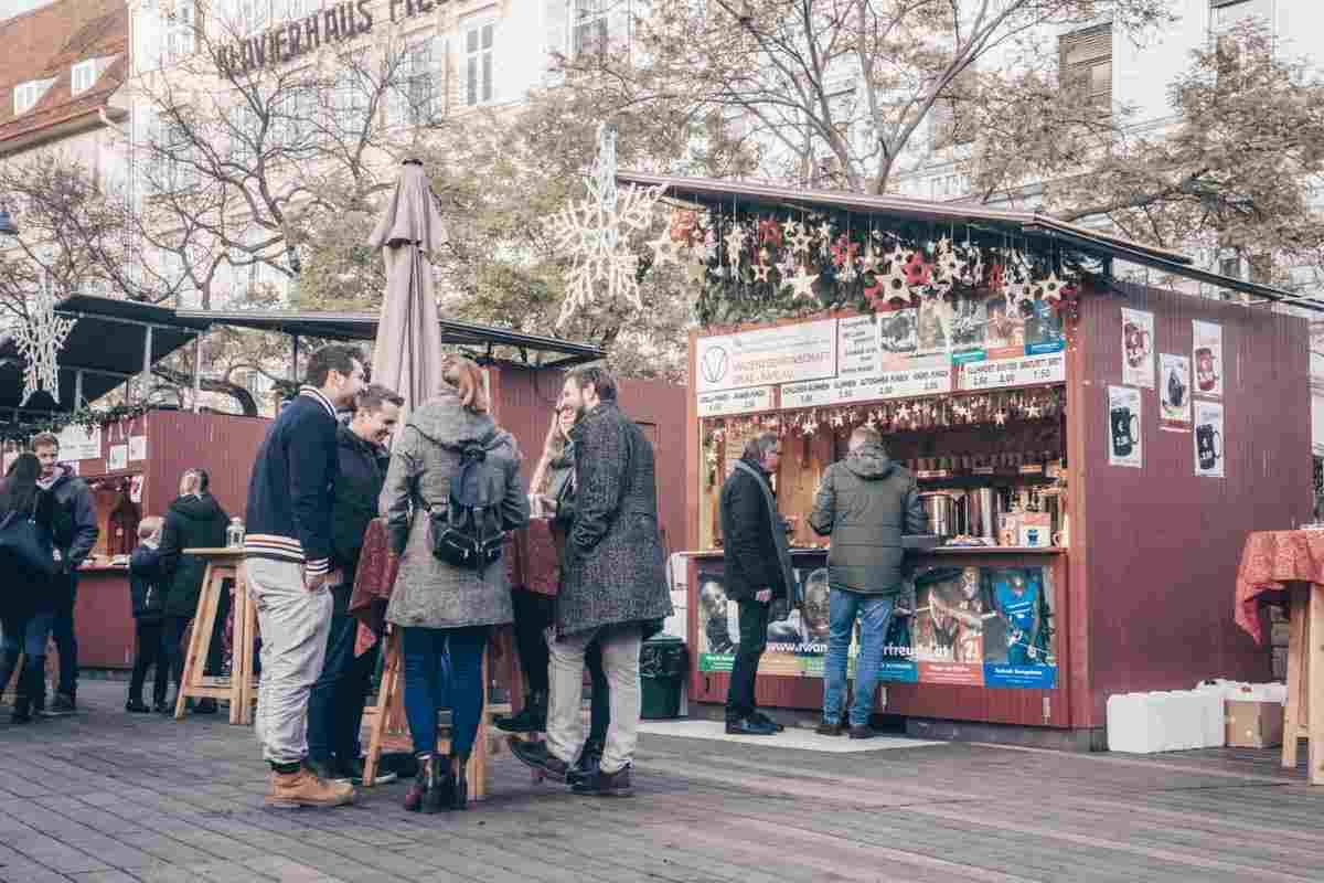Graz Christmas Market Eisernes Tor