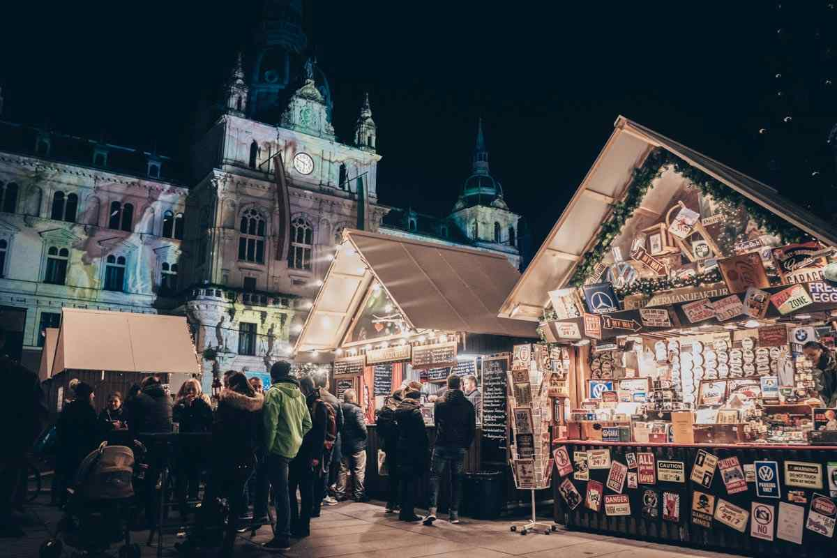 Graz Christmas Market on Hauptplatz