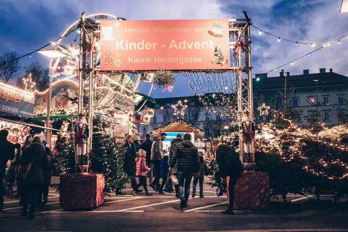 Graz Christmas Market Kleine Neutorgasse