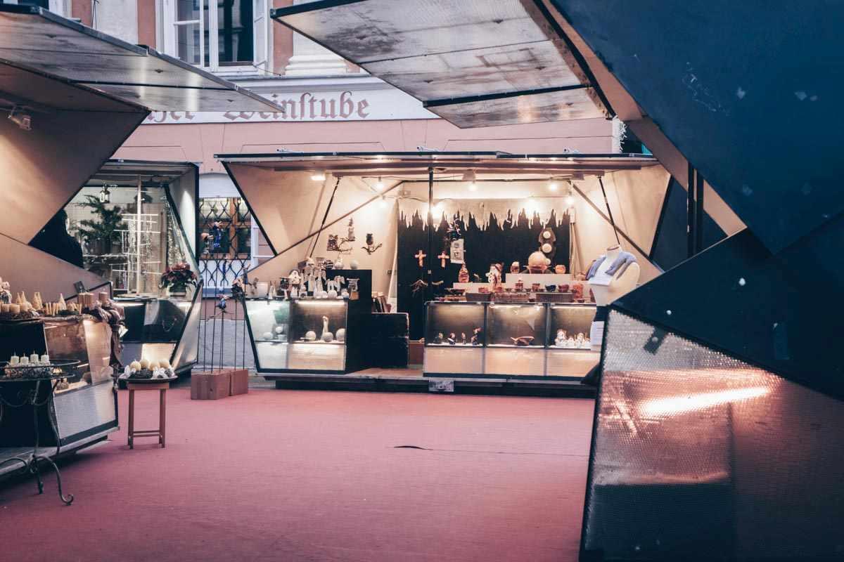 Graz Christmas Market Mehlplatz