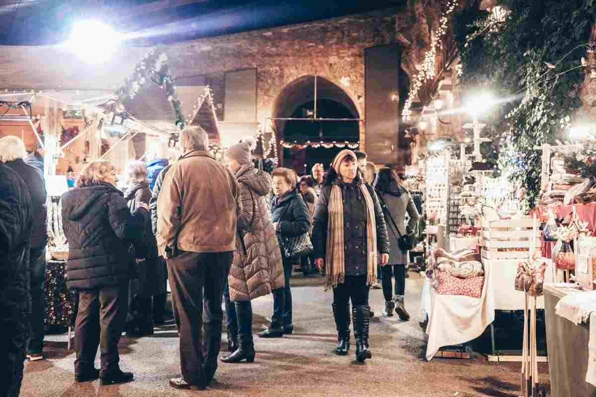 Graz Christmas Market Schlossberg Aufsteirern