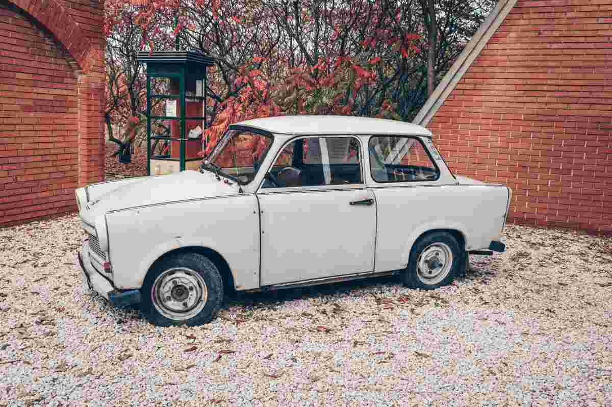 What to see in Budapest: The classic Trabant car at Memento Park