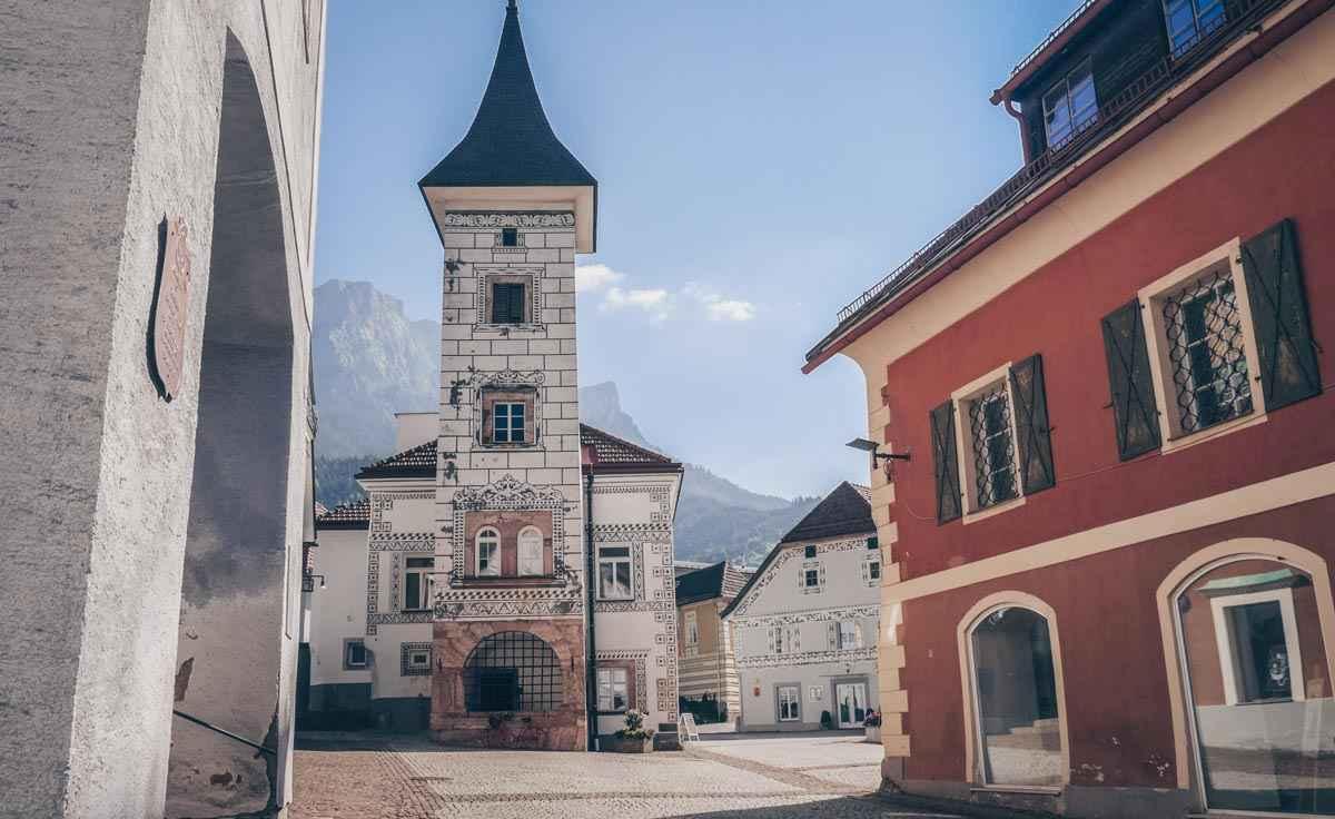 Ausflugsziele Steiermark: Die malerische Eisenerz Altstadt