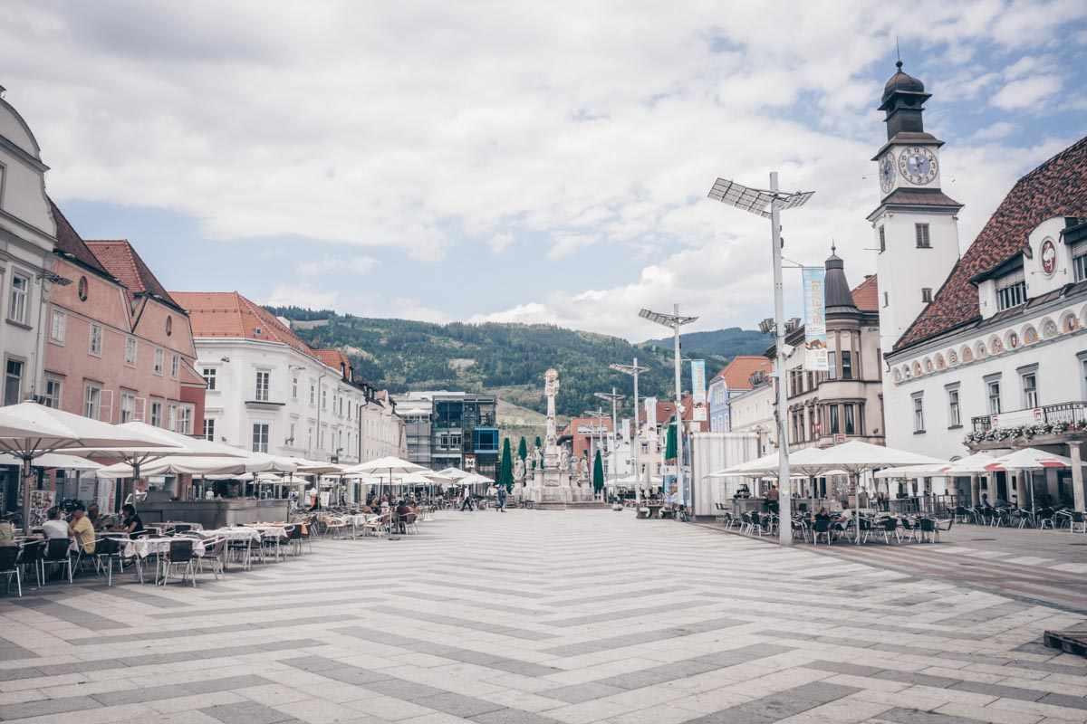 Steiermark Sehenswürdigkeiten: Leoben Hauptpaltz