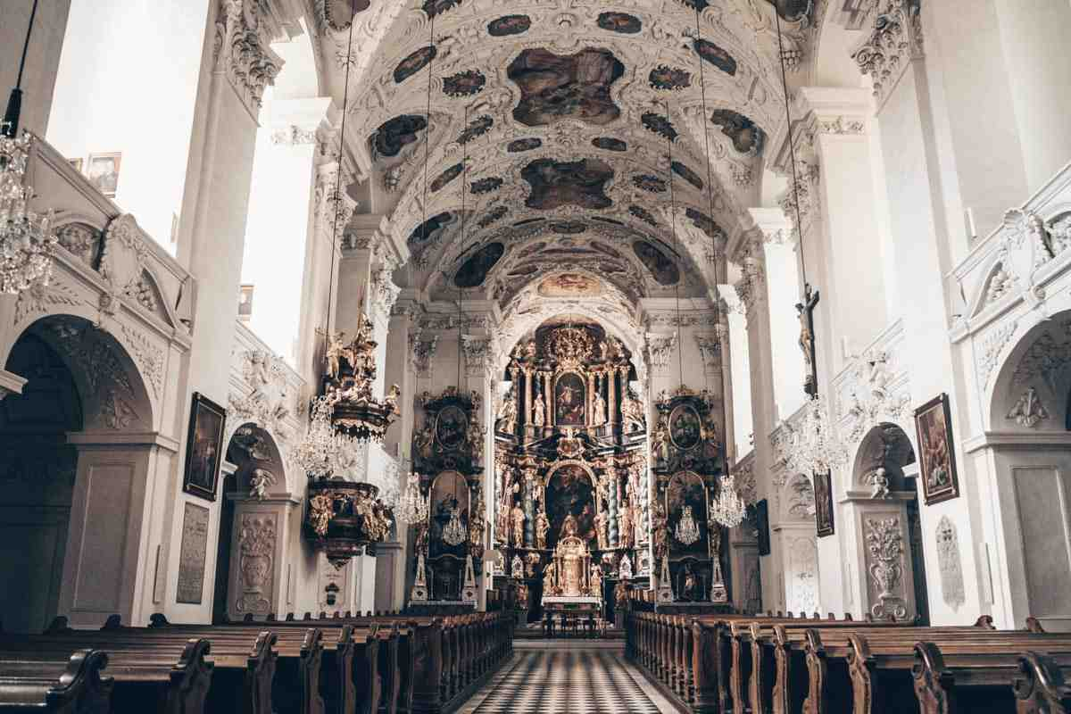 Steiermark Sehenswürdigkeiten: Die Schlosskirche von Schloss Stainz