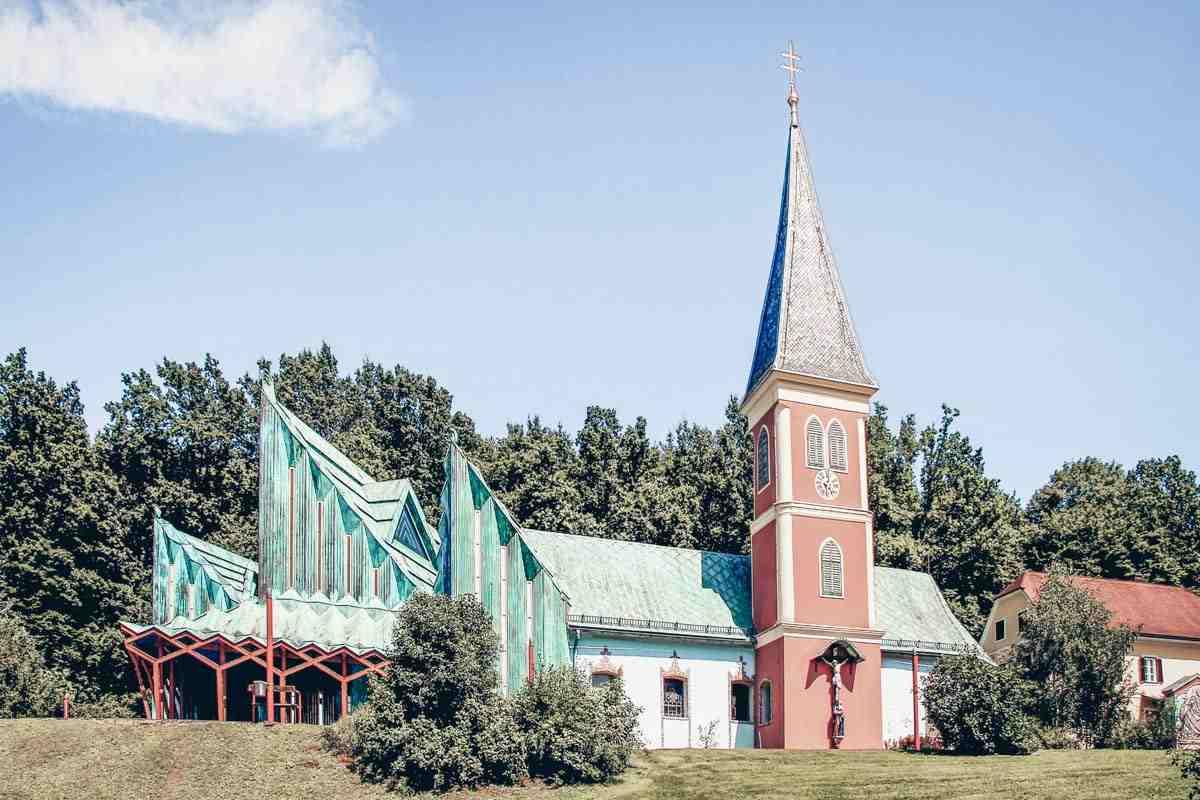 Ausflugsziele Steiermark: Die Pfarrkirche Thal bei Graz, auch bekannt als Fuchs Kirche
