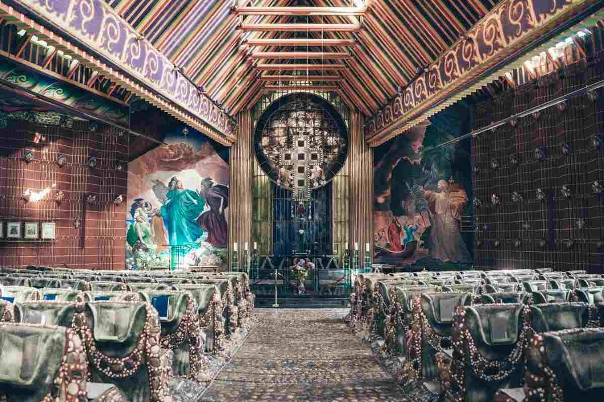 Steiermark Sehenswürdigkeiten: Das Innere der Pfarrkirche Thal bei Graz,