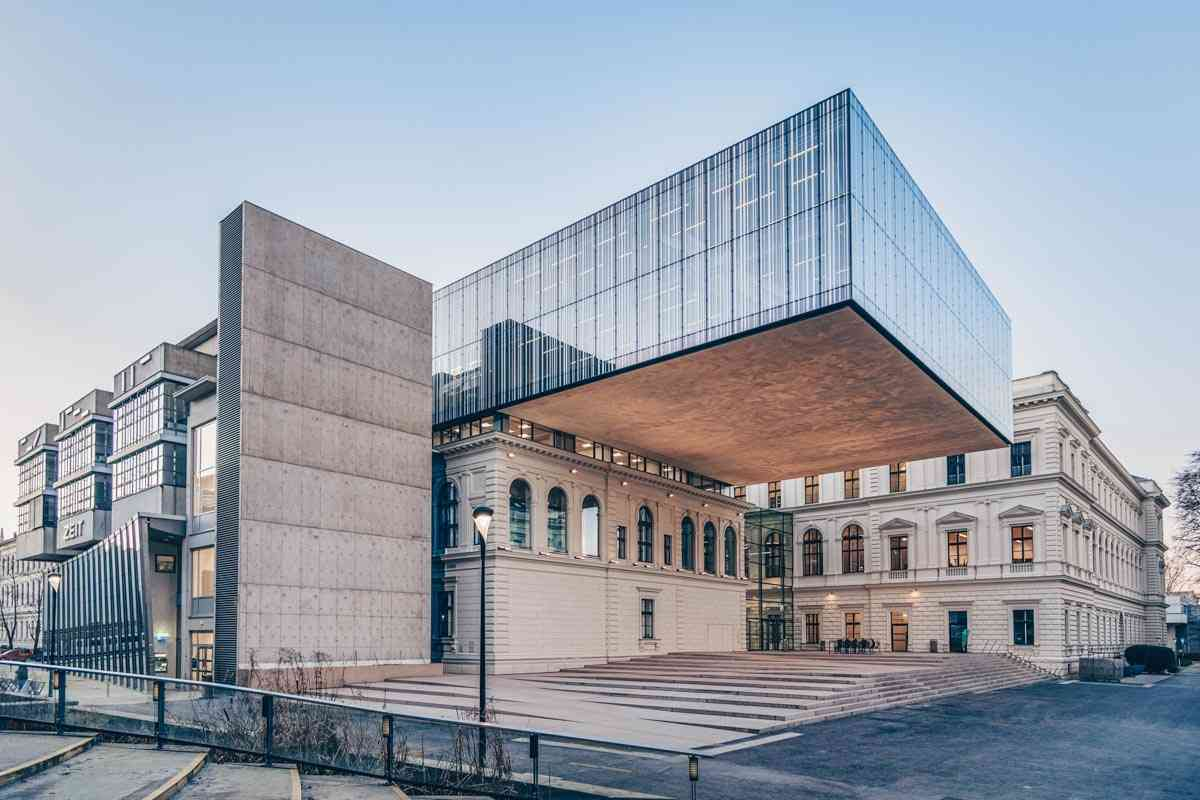 Sightseeing Graz: The spectacular new design of the main library of the University of Graz