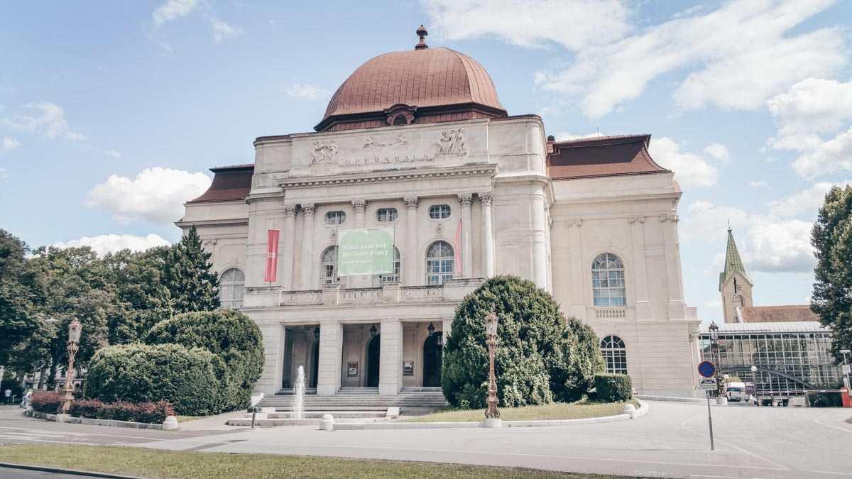Graz Sehenswürdigkeiten: Das neubarocke Opernhaus
