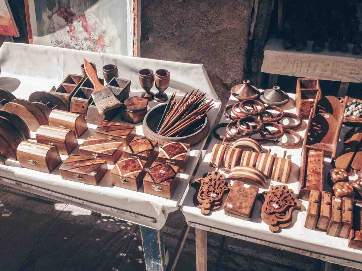 Essaouira: Exquisite wooden products in the wood-carving ateliers of the medina