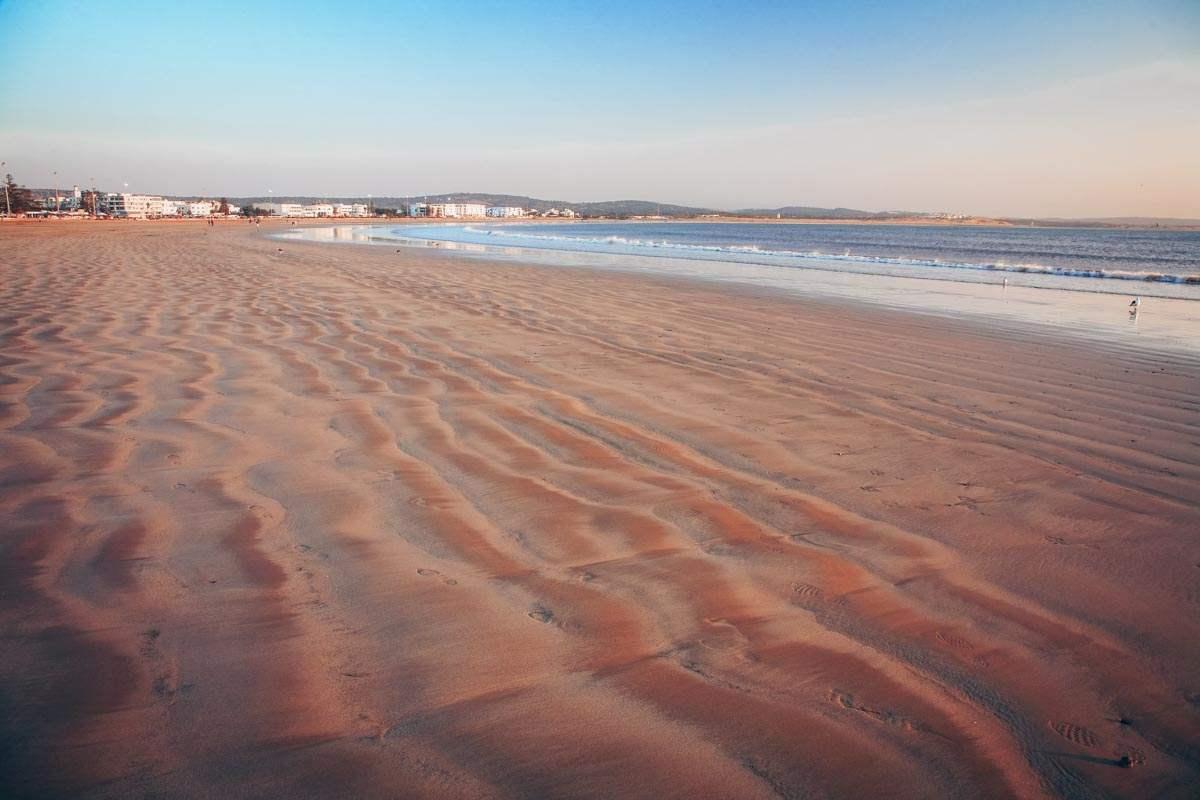 Essaouira: The famous crescent-shaped Essaouira beach