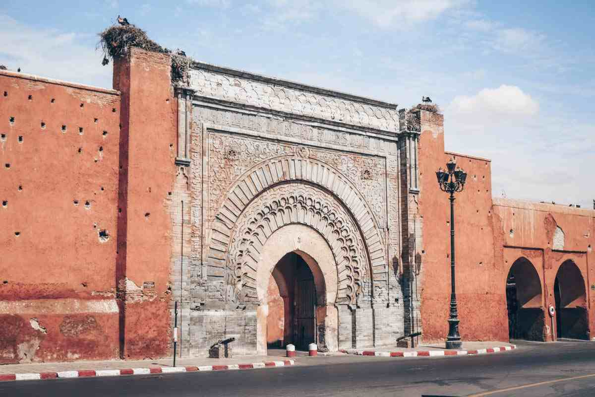 Marrakech City Gates: The lovely Bab Agnaou entry gate