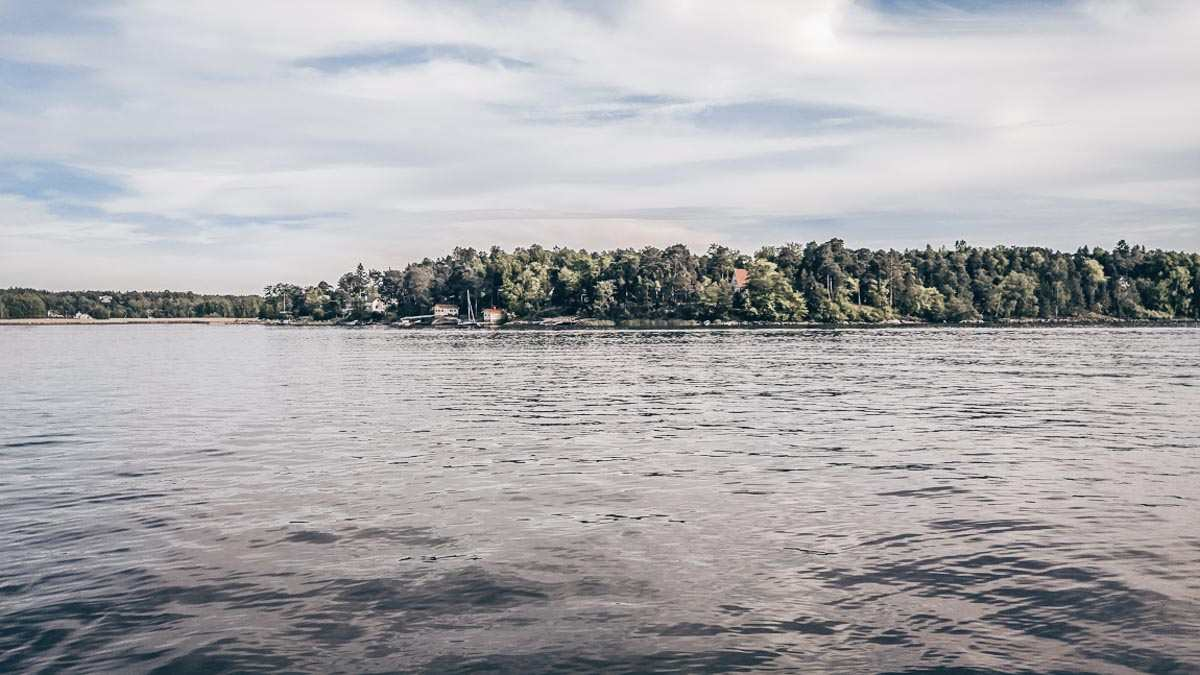 View of a small island in the Turku Archipelago