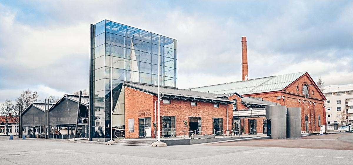 Turku: Exterior of the popular Forum Marinum exhibition center. PC: Tommikus, CC BY-SA 3.0 <https://creativecommons.org/licenses/by-sa/3.0>, via Wikimedia Commons