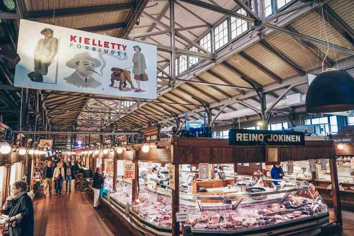 Turku: Interior of the Turku Market Hall. PC: Inspired By Maps/Shutterstock.com