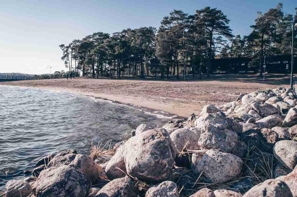 Turku: The idyllic Ruissalo island and small beach